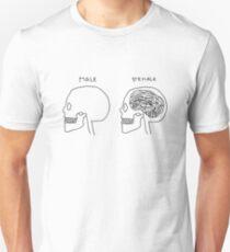 Fun Feminist Cartoon Unisex T-Shirt