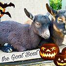 Halloween Goat Boat by Marla Riley