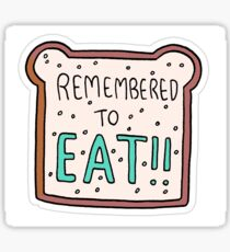 """""""Remembered to Eat"""" Little Achievements Sticker"""