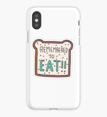 """Remembered to Eat"" Little Achievements iPhone Case"