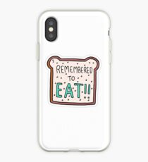 """""""Remembered to Eat"""" Little Achievements iPhone Case"""