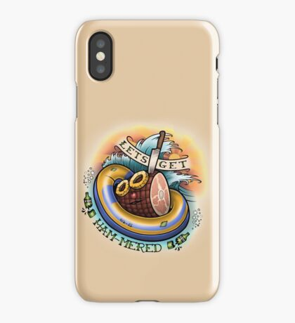 Let's Get Hammered! iPhone Case