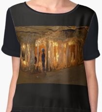 Journey to the Centre of the Earth... Chiffon Top