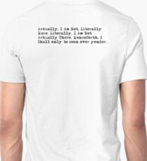 Actually 1 T-Shirt