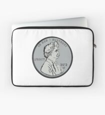 """""""Mark makes cents"""" by Tai's Tees Laptop Sleeve"""