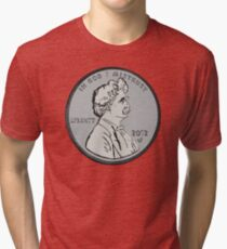 """Mark makes cents"" by Tai's Tees Tri-blend T-Shirt"