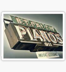 B.T.Faith Pianos Sticker