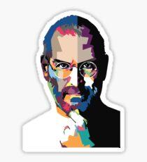 Steve Jobs portrait Sticker