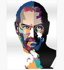 Steve Jobs portrait | Steve Jobs painting  Poster