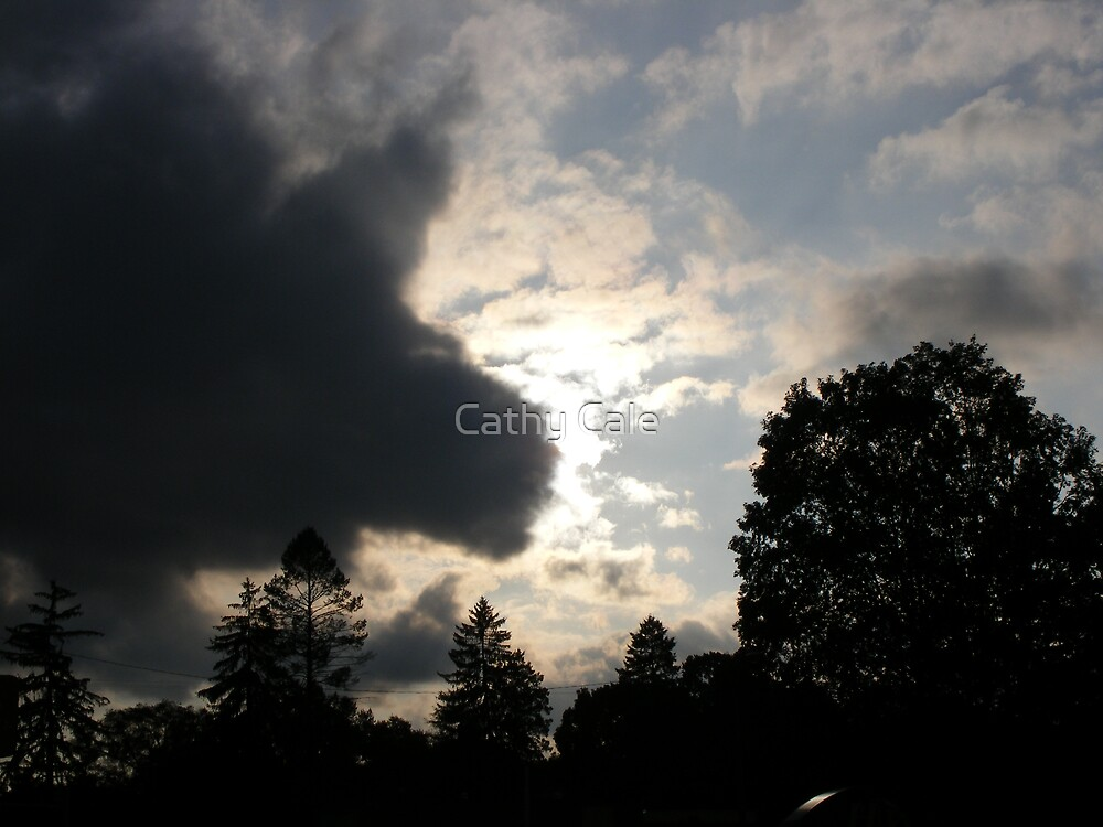 Dark Cloud Comin' In!! by Cathy Cale