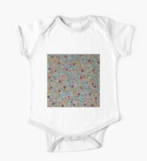 Playful Watercolor dots pattern - Silver Kids Clothes