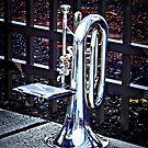 Baritone Horn Before Parade by Susan Savad