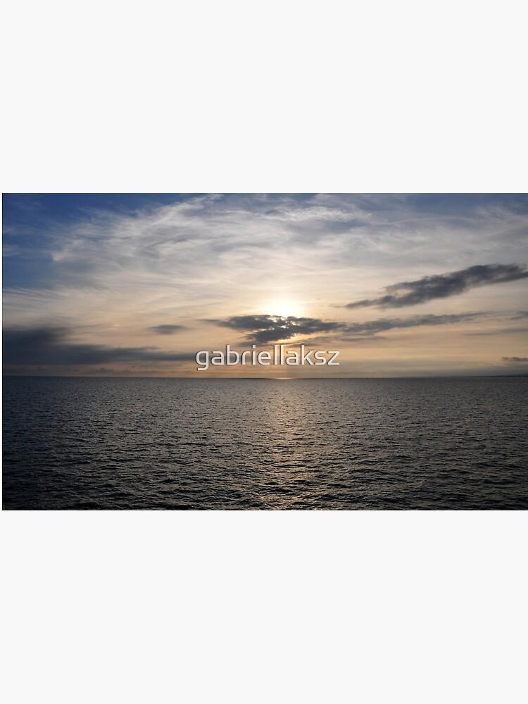 Sky and sea by gabriellaksz