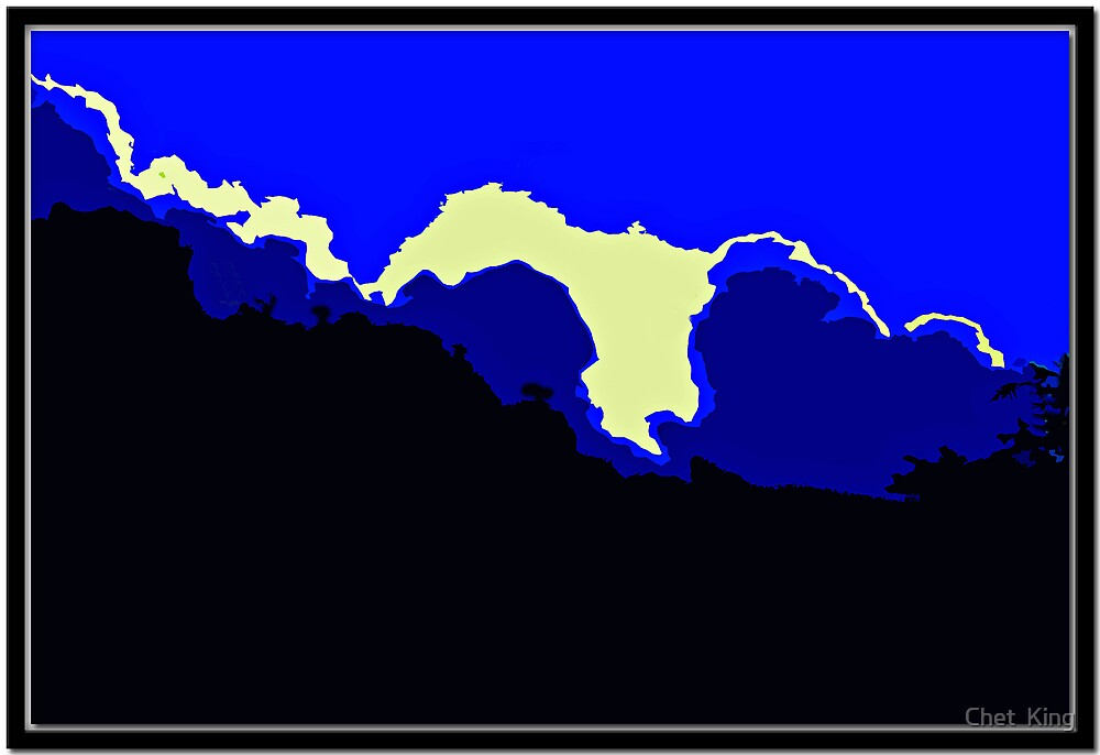 Blue Cloud by Chet  King