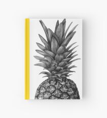 Simply Pineapple Hardcover Journal