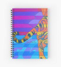 Hexagram 10-Lü (Tread lightly) Spiral Notebook