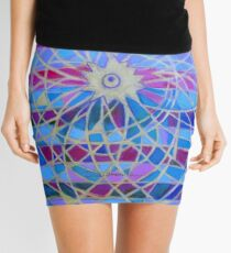 Hexagram 9-Hsiao Ch'u (Power of the Small) Mini Skirt