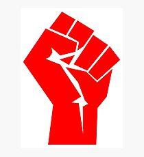 Fist of Revolution Photographic Print