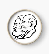 Marx und Lenin Uhr