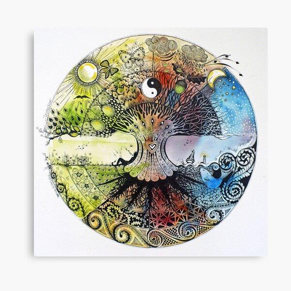 levensboom / tree of life Canvas Print