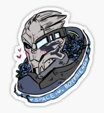 garrus vakarian: space boyfriend Sticker
