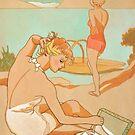 "« Vintage advertising poster ""Salami Bell"" » par xyzebre"