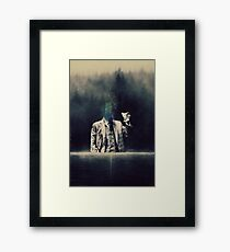 Here's to you ... Framed Print