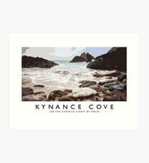 Kynance Cove Art Print
