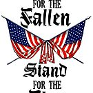 NFL: Kneel for the Fallen, Stand for the Flag by HouseofDaze