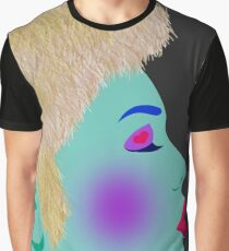 Abstract  Lady Graphic T-Shirt