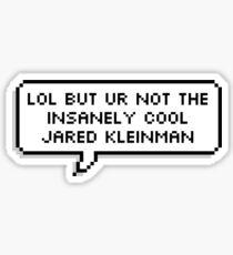 Jared Kleinman DEH Sticker