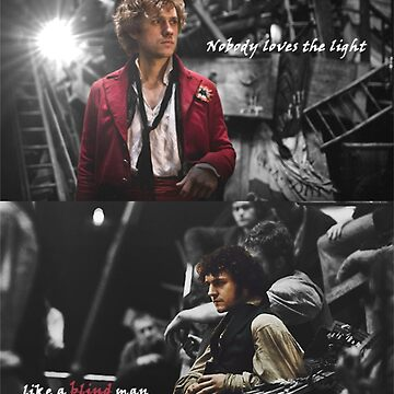 Nobody Loves the Light like a Blind Man | Enjolras & Grantaire by CatchYouLater