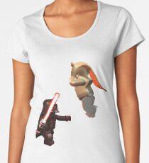 Vader Chokes Jar Jar Women's Premium T-Shirt