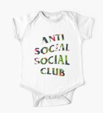 Anti Social Social Club Floral Kids Clothes
