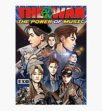 the power of music - exo  Photographic Print