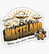 Greetings from the Wasteland! Sticker