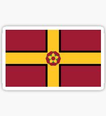 Northamptonshire Flag Stickers Sticker