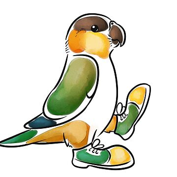 Clown Shoes Caique by KeesKiwi
