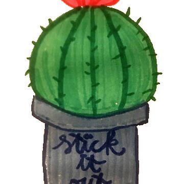 stick it out. by mollykathryn123