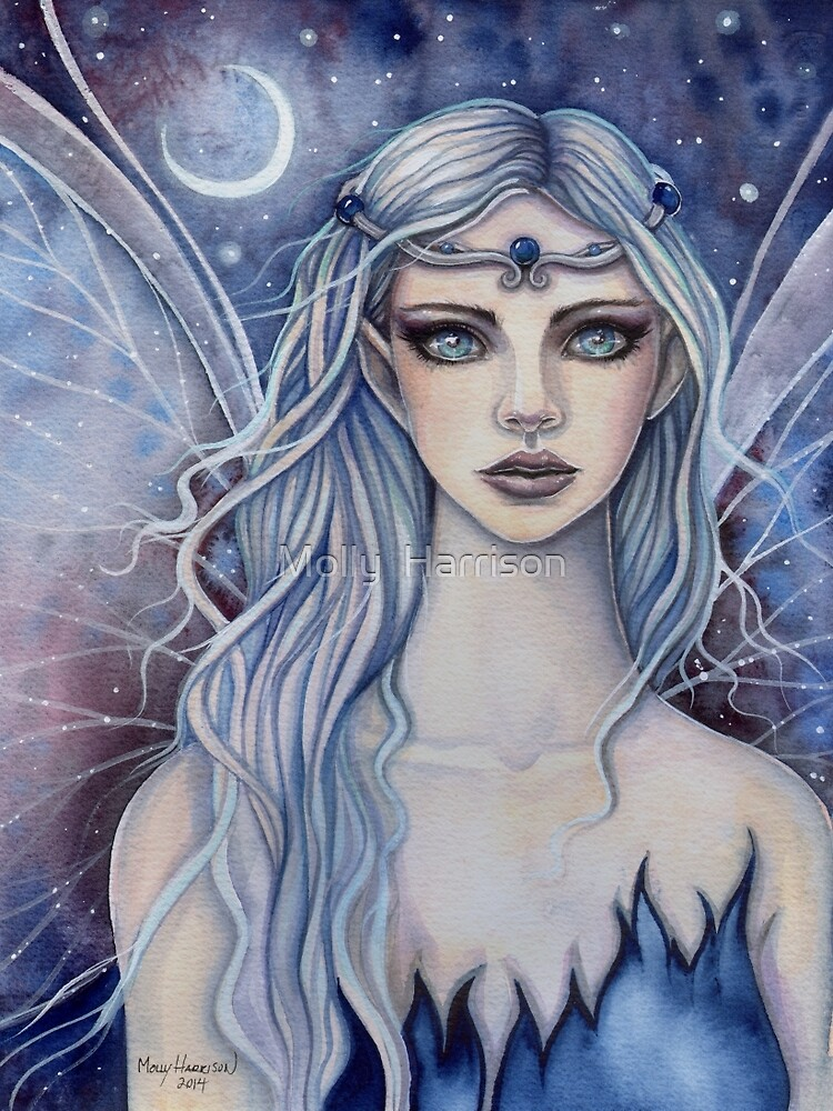 Quot Sapphire Mystical Fairy Fantasy Art By Molly Harrison Quot By