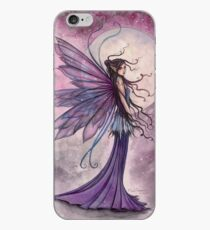 Starlit Amethyst Celestial Fairy Fantasy Art by Molly Harrison iPhone Case