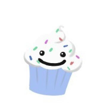 Smiling Cupcake Pattern by estabrooksc