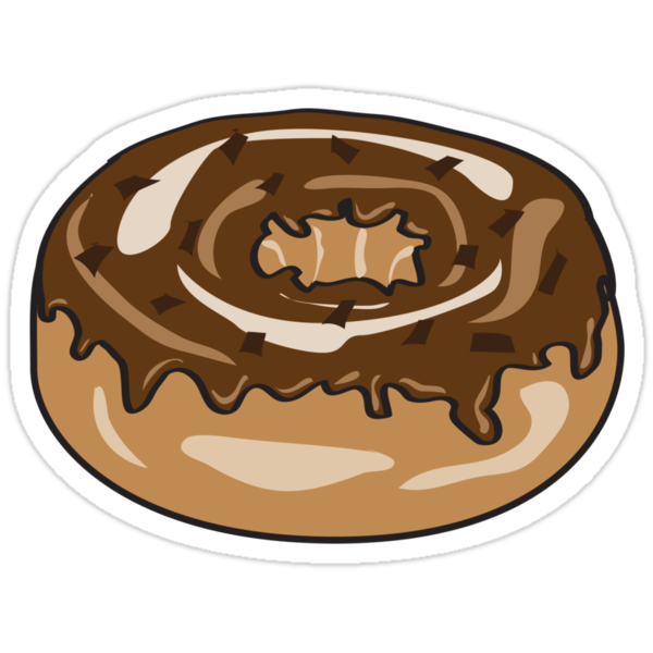 Chocolate donut by shanmclean
