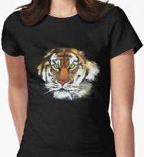 Le tigre soleil T-shirt col V femme