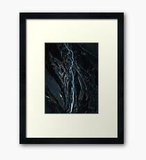 Abstract River in Iceland - Landscape Photography Framed Print