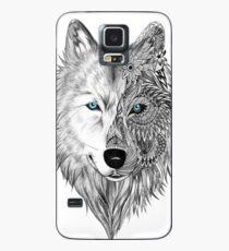 Der weiße Wolf Hülle & Klebefolie für Samsung Galaxy