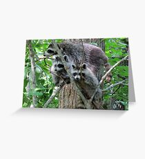 Mom, The Camera Is Over There! Greeting Card