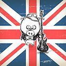 Fifer Creepy Little Pig - © Art by Carine-M by Atelier ★ Arsenic et Boule de Gomme