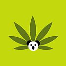 Marijuana and Panda Design by Cveta