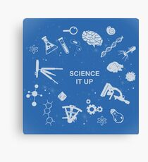 Science it up Canvas Print